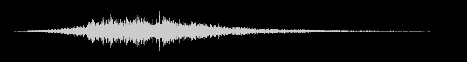 企業イメージ プレゼン映像 サウンドロゴの未再生の波形