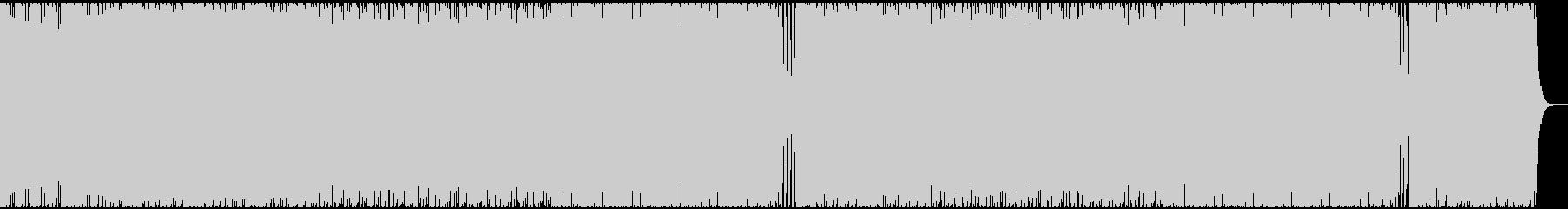 オシャレで爽やかな曲調のハウス系BGMの未再生の波形