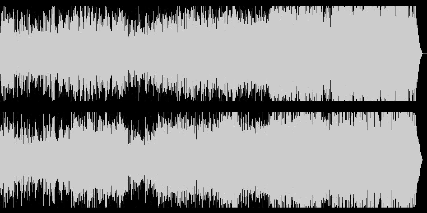 レニクラ風盛り上がれるクラッシックロックの未再生の波形