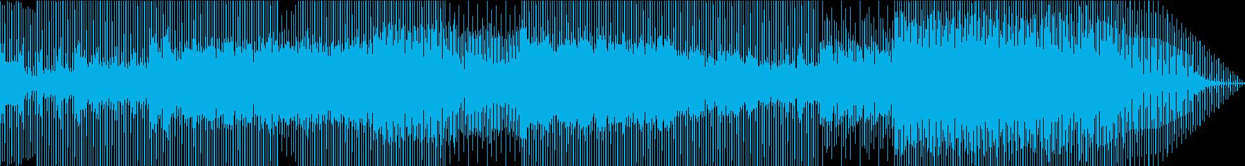 クラブダンス風パーティーミュージックの再生済みの波形