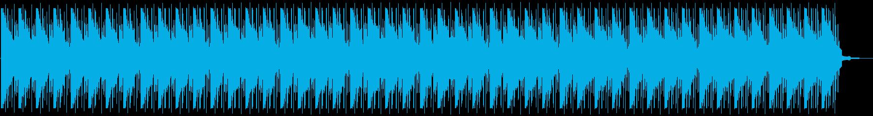 おしゃれ・温かい・睡眠・ピアノチルアウトの再生済みの波形