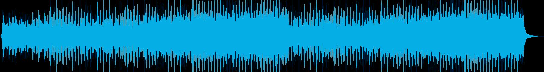企業VP系113、爽やかギター4つ打ちaの再生済みの波形