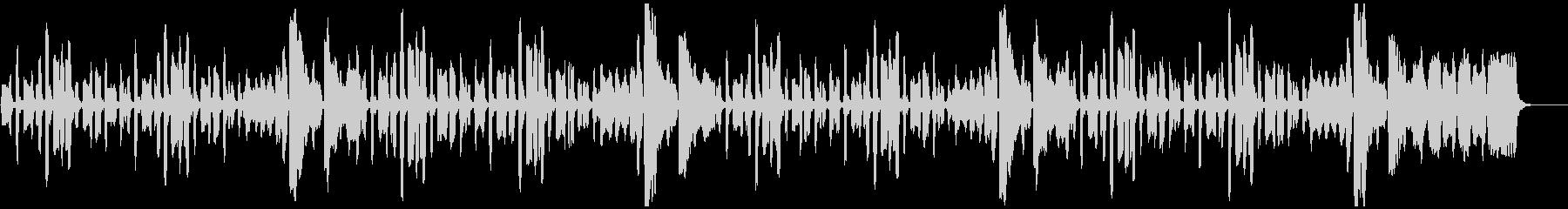 リコーダーのちょっぴり切ない曲_ロングの未再生の波形