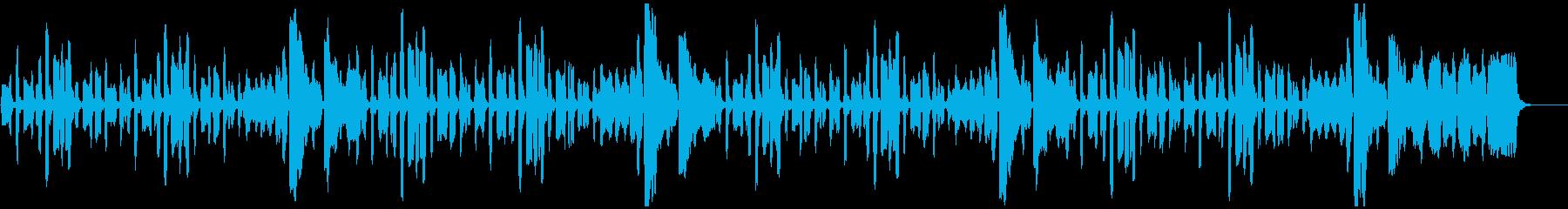 リコーダーのちょっぴり切ない曲_ロングの再生済みの波形