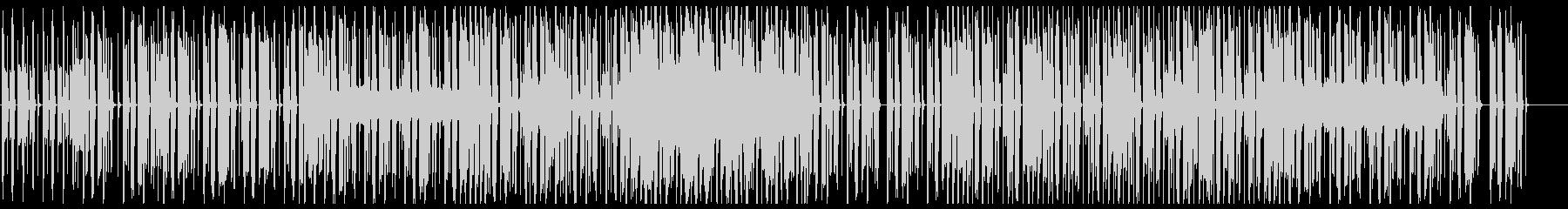 オシャレなチル系ビート 歌なしサックス有の未再生の波形