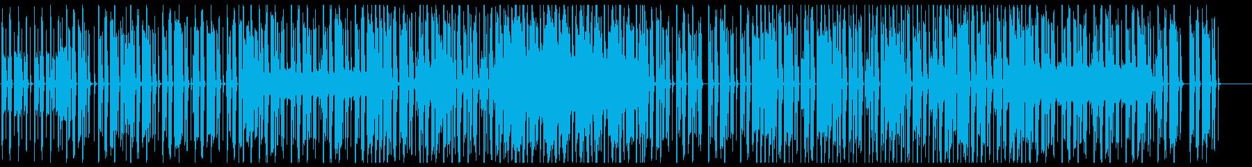 オシャレなチル系ビート 歌なしサックス有の再生済みの波形
