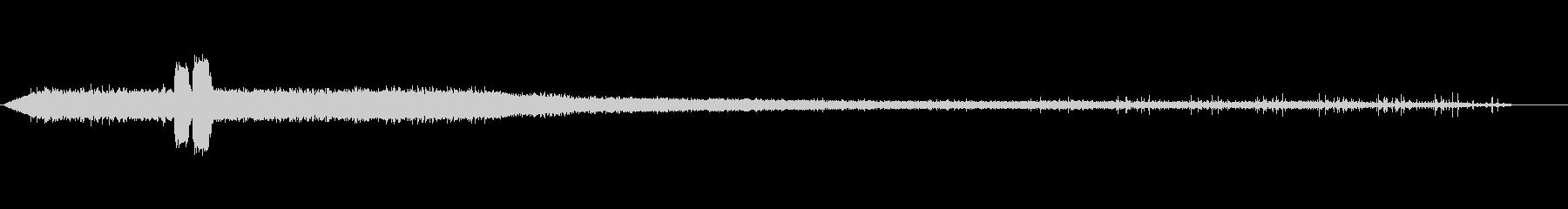 ディーゼル列車-貨物-出発-の未再生の波形