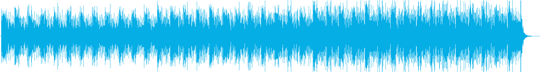 【ニュース系4】シンセ、無機質、坦々aの再生済みの波形