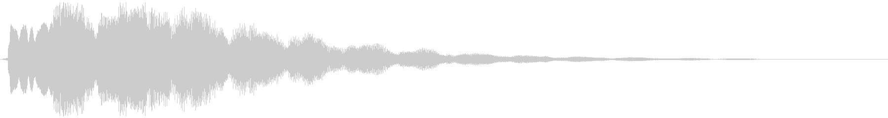 ティントンタンー(ベル)の未再生の波形