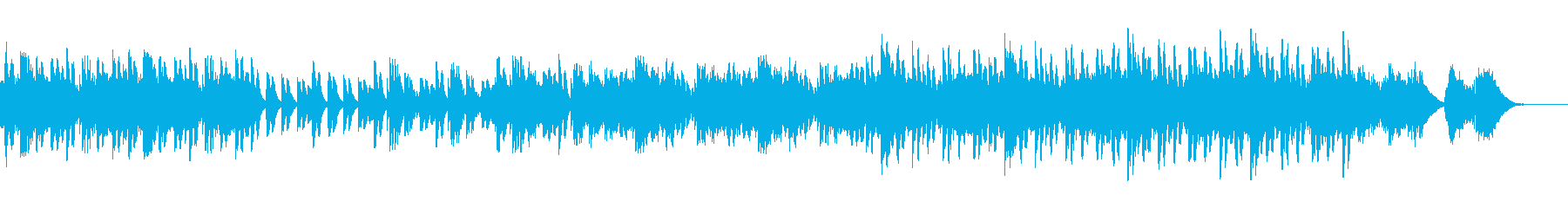 奇妙なファンタジーをテーマにしたメ...の再生済みの波形