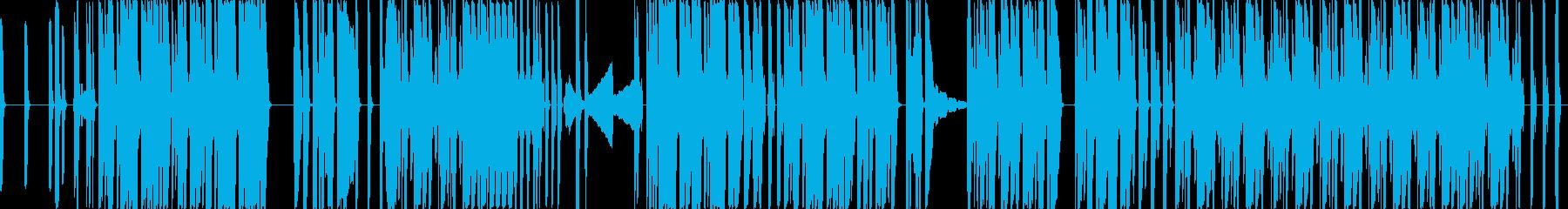 快活なビート、心地よいブレイクの再生済みの波形