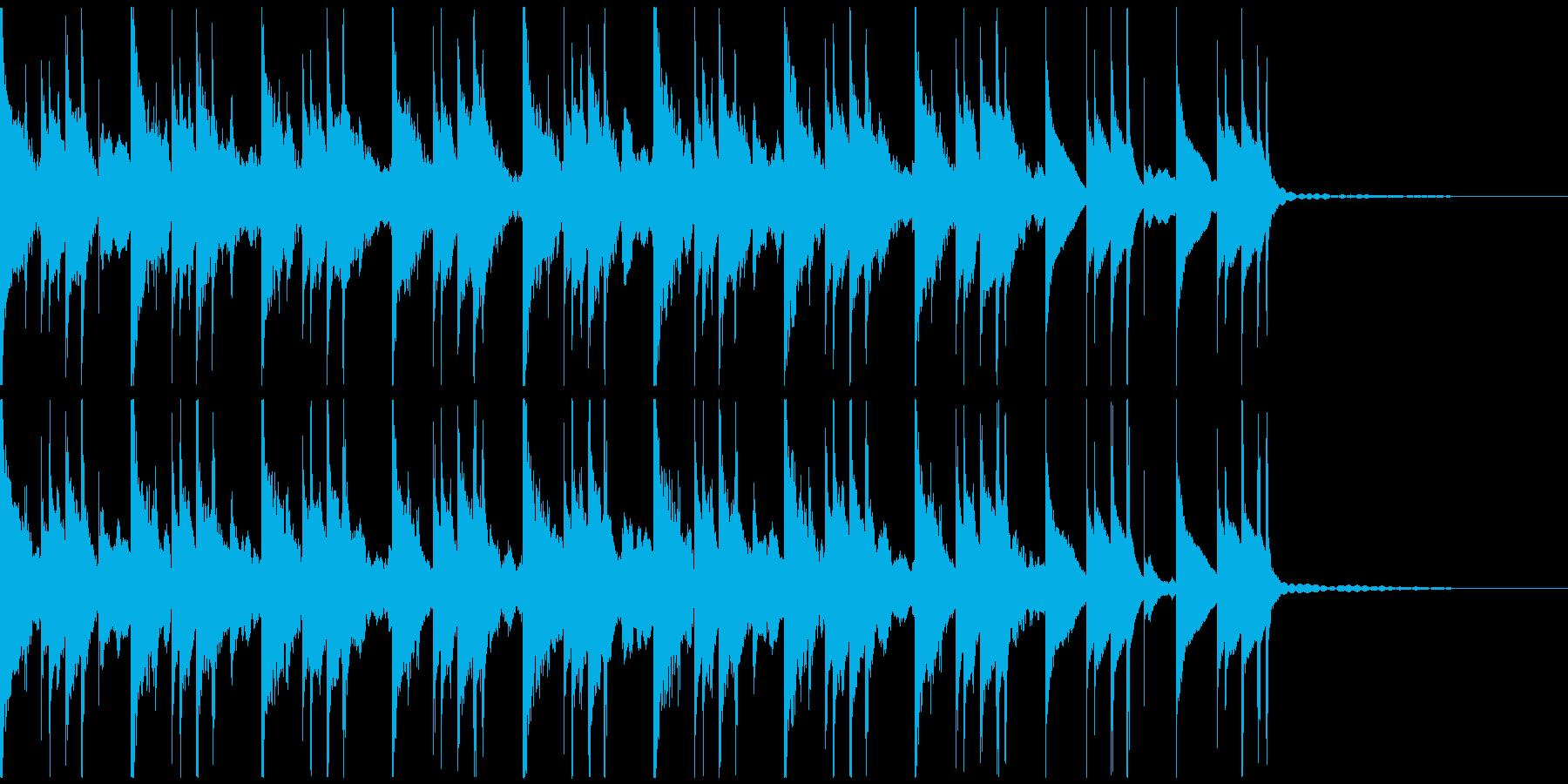 緊張感・切迫感・ミステリアス・スリリングの再生済みの波形