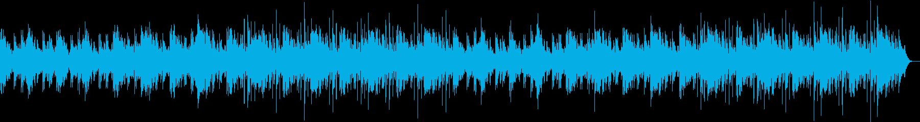 高いリラックス効果で副交感神経を刺激の再生済みの波形