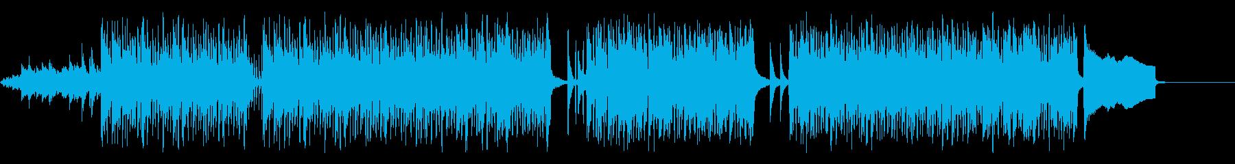 爽やか 明るい オーガニックな曲の再生済みの波形