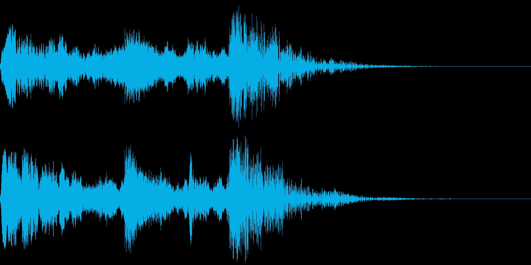 よお〜ドン!/太鼓/歌舞伎のジングル!6の再生済みの波形