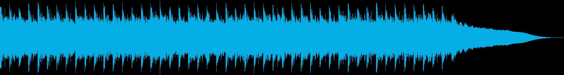 企業VP、コーポレート、明るい曲,30秒の再生済みの波形