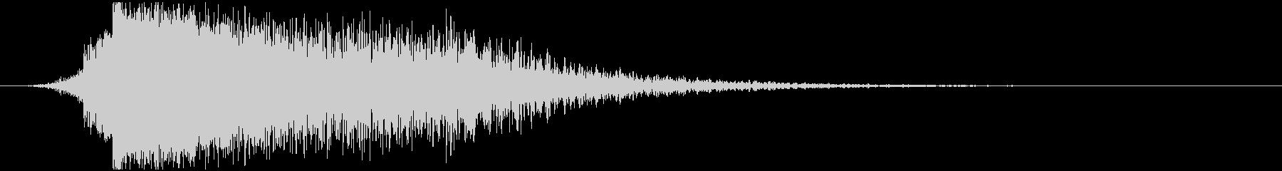 パワージングル シンセ SE5の未再生の波形