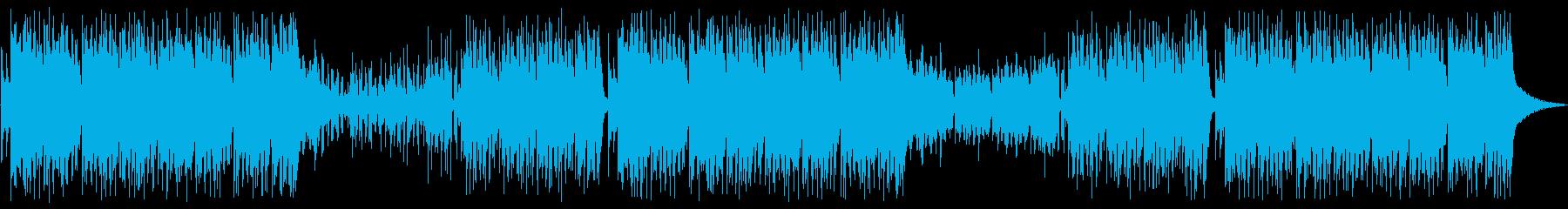 和風EDM・明るく軽快なメロディーの再生済みの波形