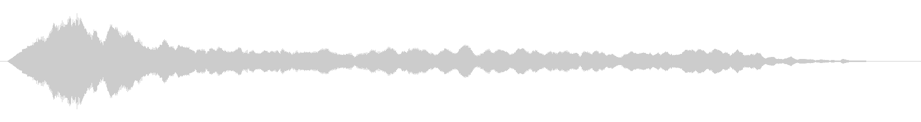 素材 ガラガラピアノドローン04の未再生の波形