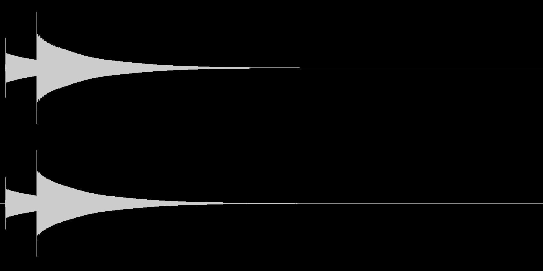 スモールヘビーブラスディナーゴング...の未再生の波形