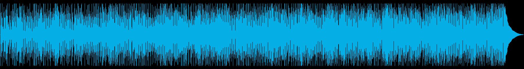 60年代を彷彿させるファンクミュージックの再生済みの波形