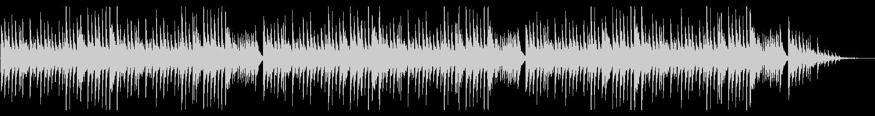 「たなばたさま」シンプルな琴のアレンジの未再生の波形