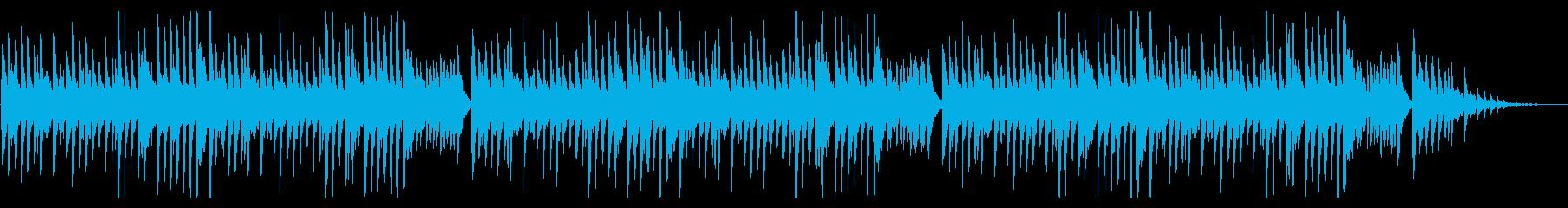 「たなばたさま」シンプルな琴のアレンジの再生済みの波形