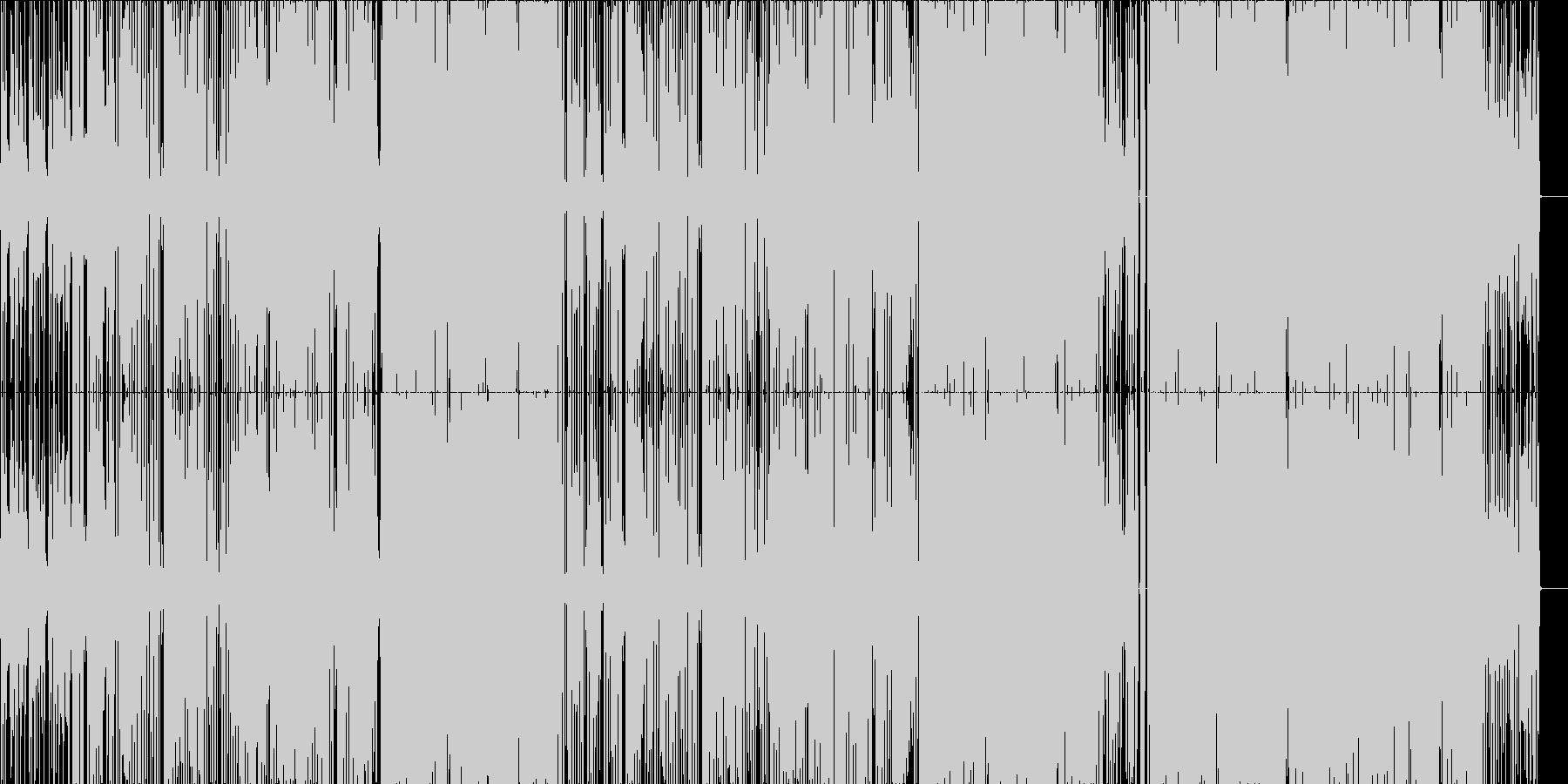 オシャレで切ない感動R&B(LO-FI)の未再生の波形