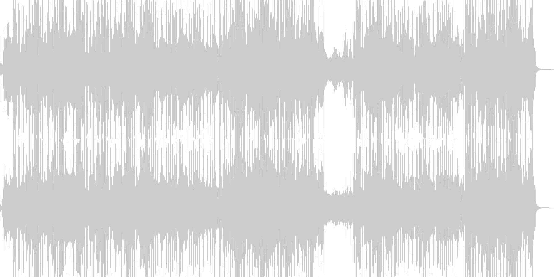 琴・レトロな演歌調R&Bポップ ★の未再生の波形