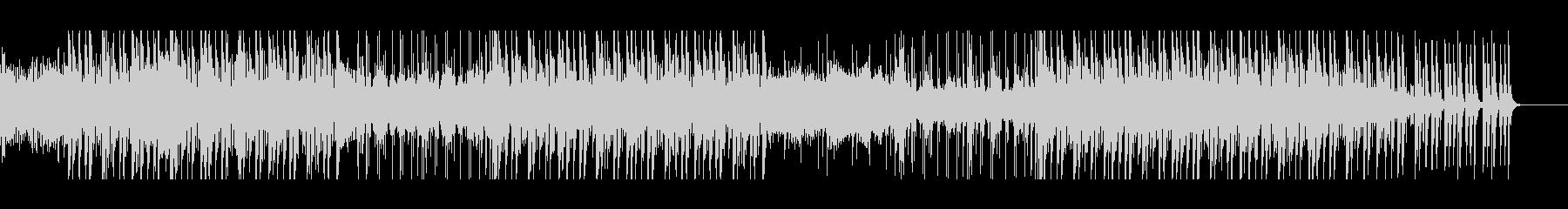 ミディアムテンポのダークシンセウェーブの未再生の波形