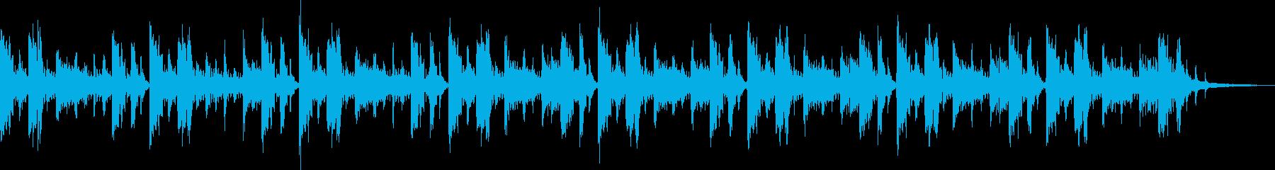STGプレイ風コミカル15秒の再生済みの波形