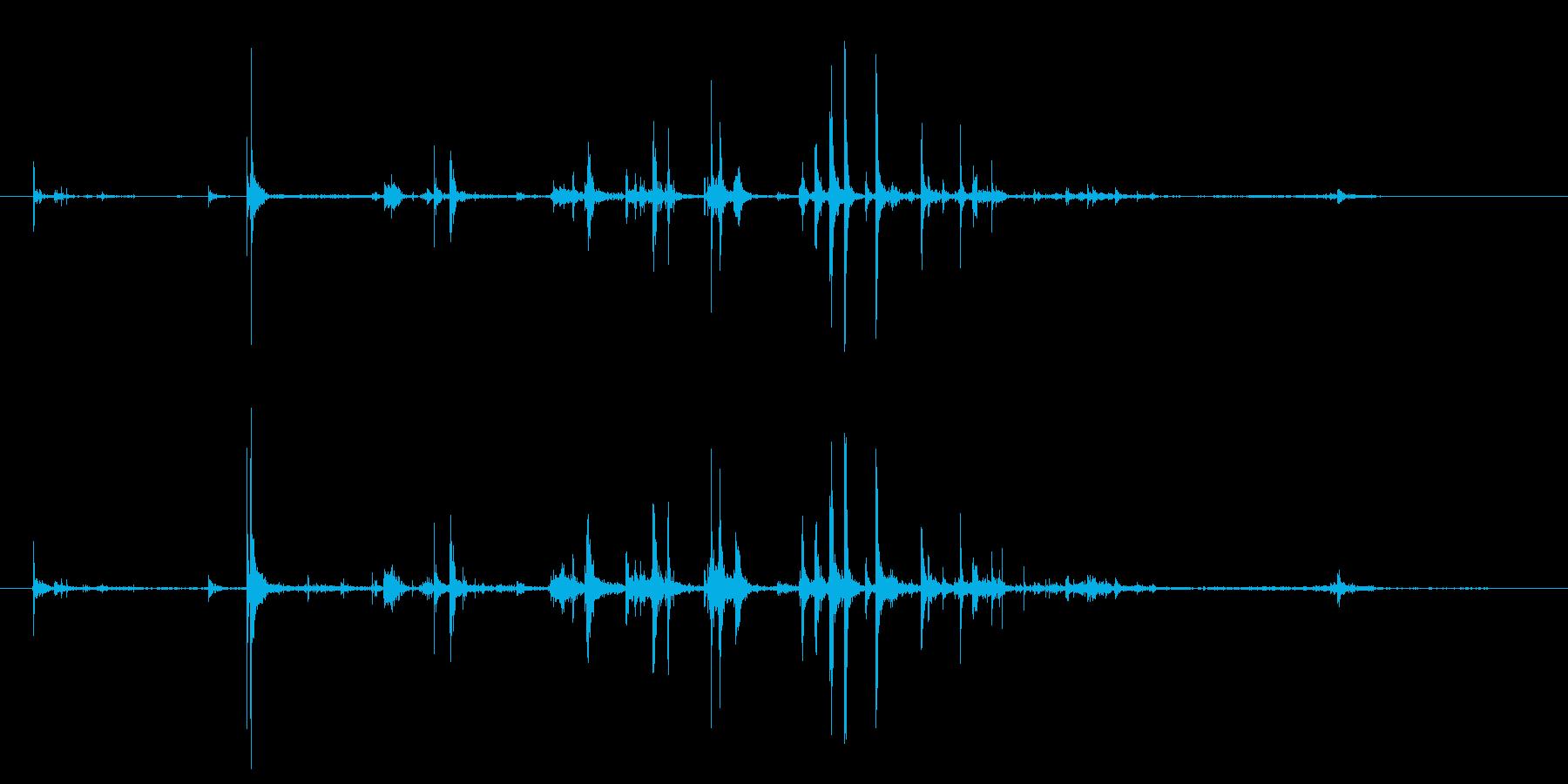 石 大秋01の再生済みの波形
