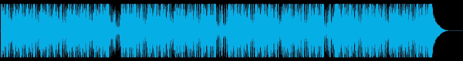 LIVE SE向き ROCK系 BGMの再生済みの波形