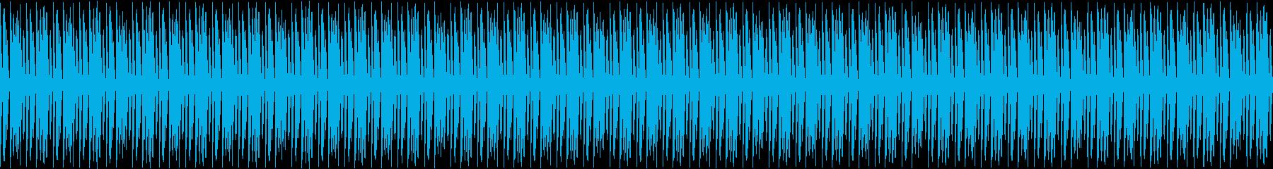 ピアノ・生配信・ほのぼの・ループ・日常2の再生済みの波形