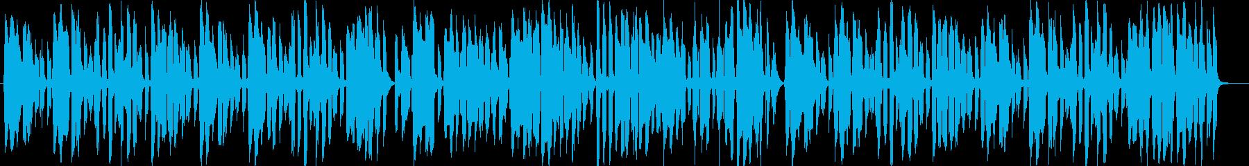 昔の思い出を、なつかしく感じるBGMの再生済みの波形