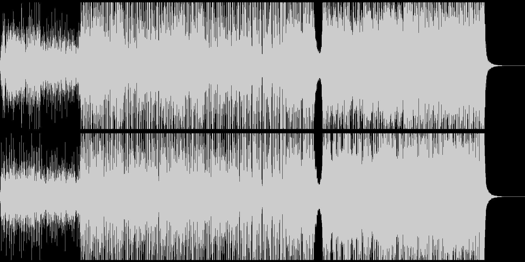 テンポゆっくりのepic +stepの未再生の波形