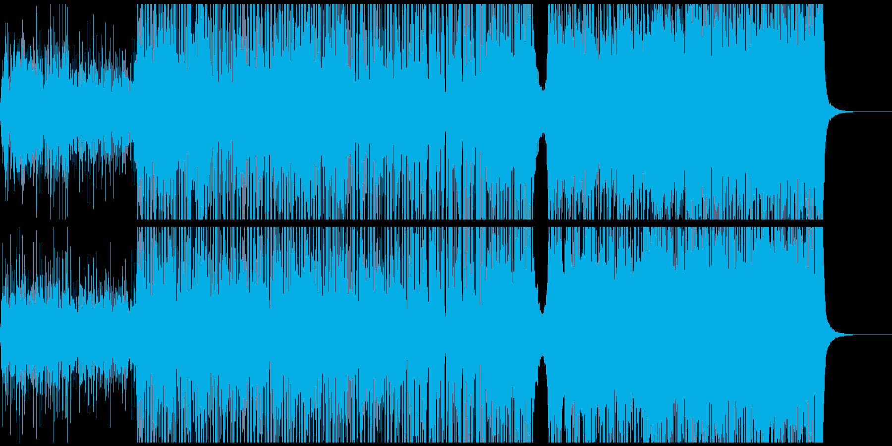 テンポゆっくりのepic +stepの再生済みの波形