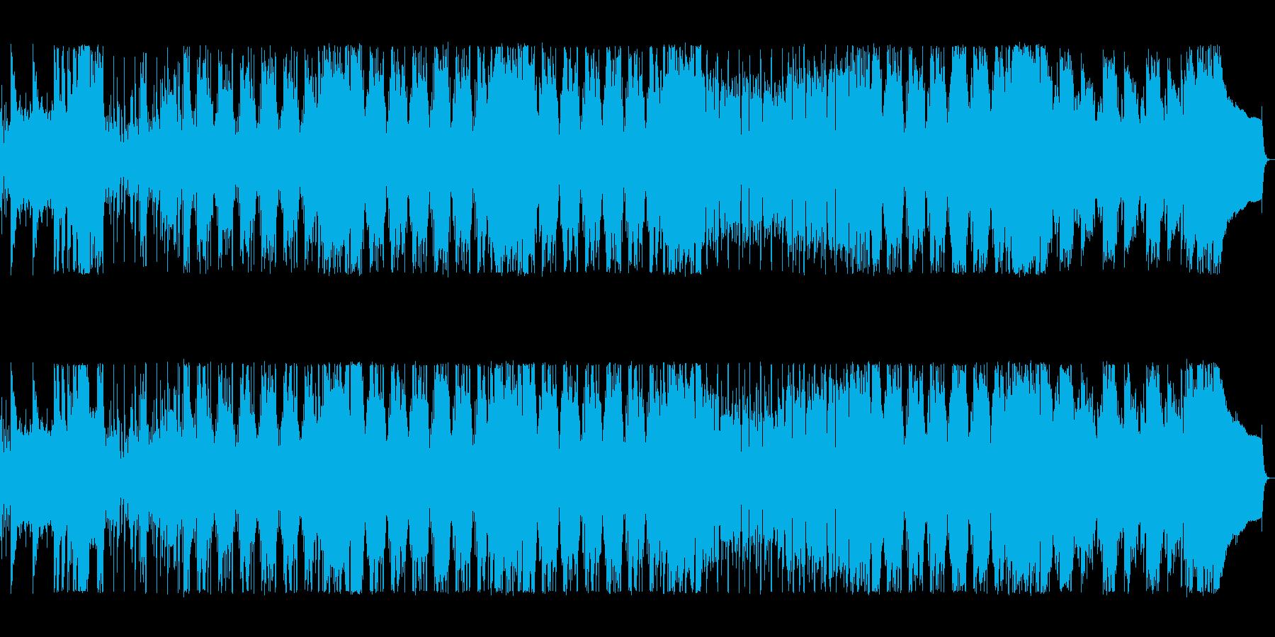 アニメに出てきそうなハチャメチャポップスの再生済みの波形
