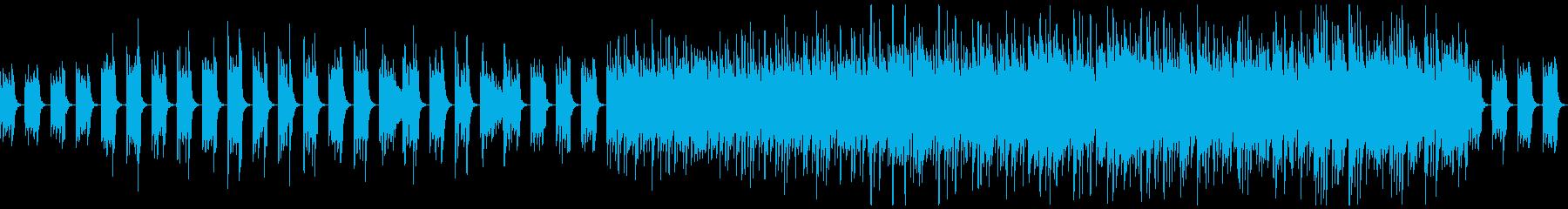 【ループ】中世風のギター:太古の森 フルの再生済みの波形