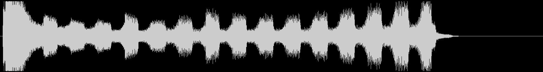 【企業ジングル】深刻/ピアノ&エレクトロの未再生の波形