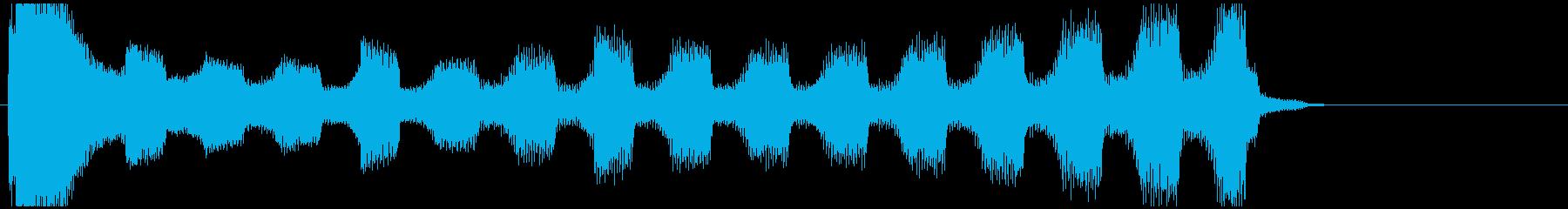 【企業ジングル】深刻/ピアノ&エレクトロの再生済みの波形