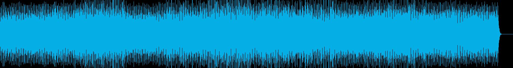キラキラで優しい雰囲気のトランスの再生済みの波形