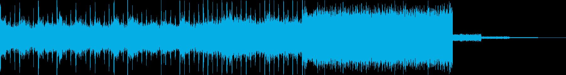 約10秒の元気なサウンドロゴです。の再生済みの波形