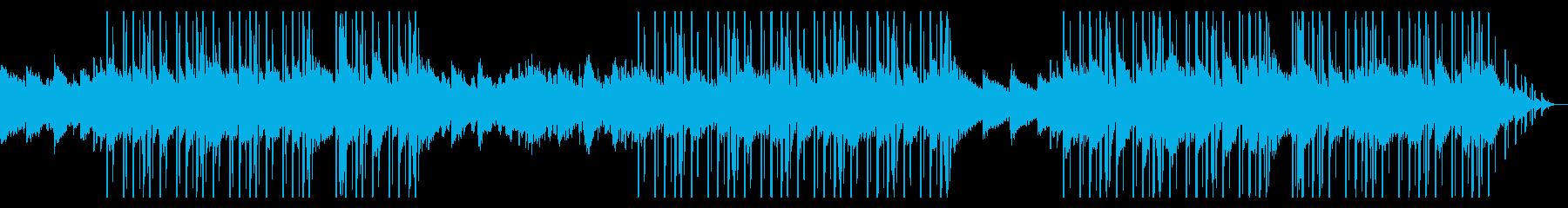 コーラスとkeyの哀愁漂うスローなビートの再生済みの波形