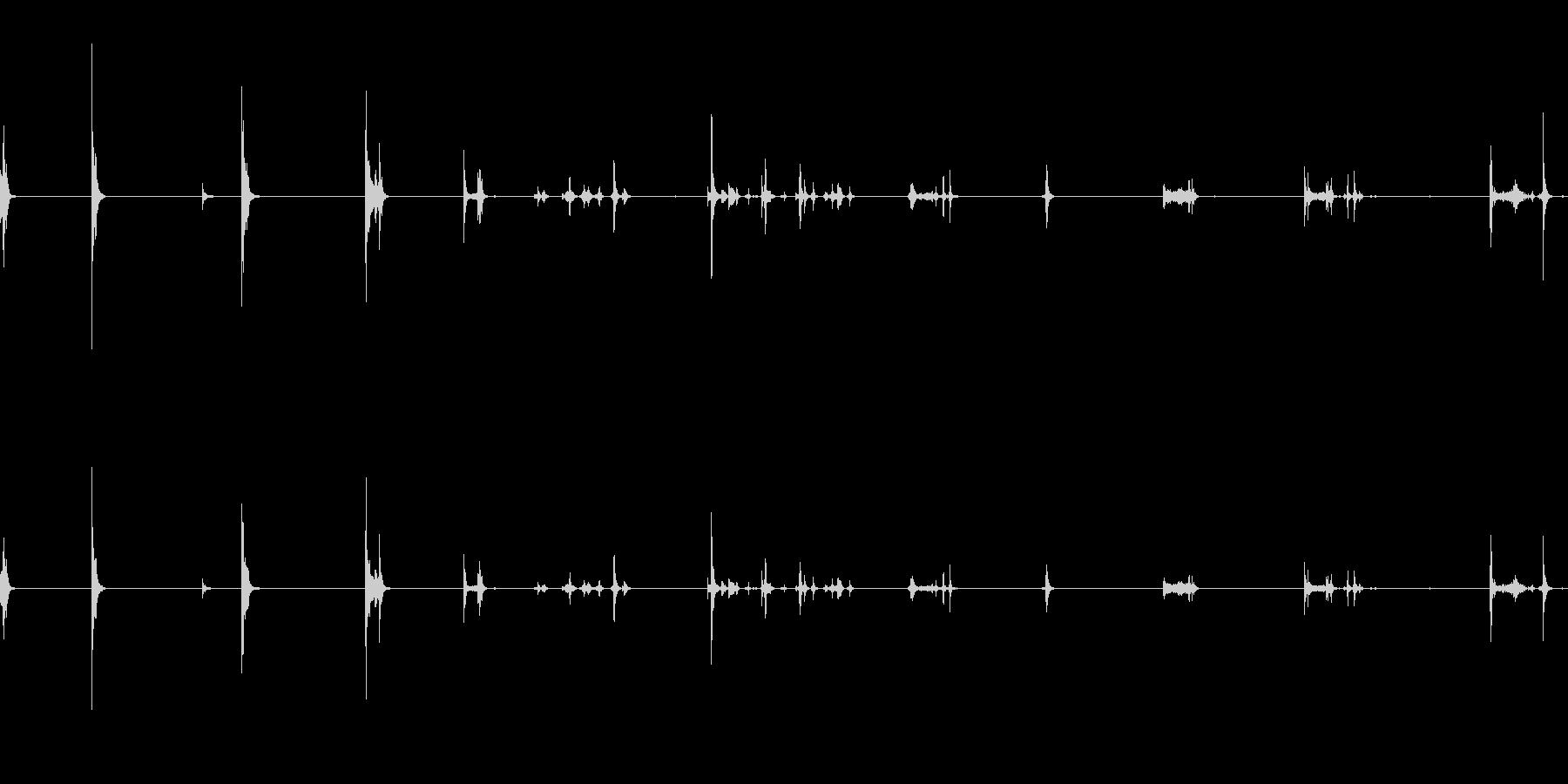 ケトル、ポット、蓋、オン、オフ、キ...の未再生の波形