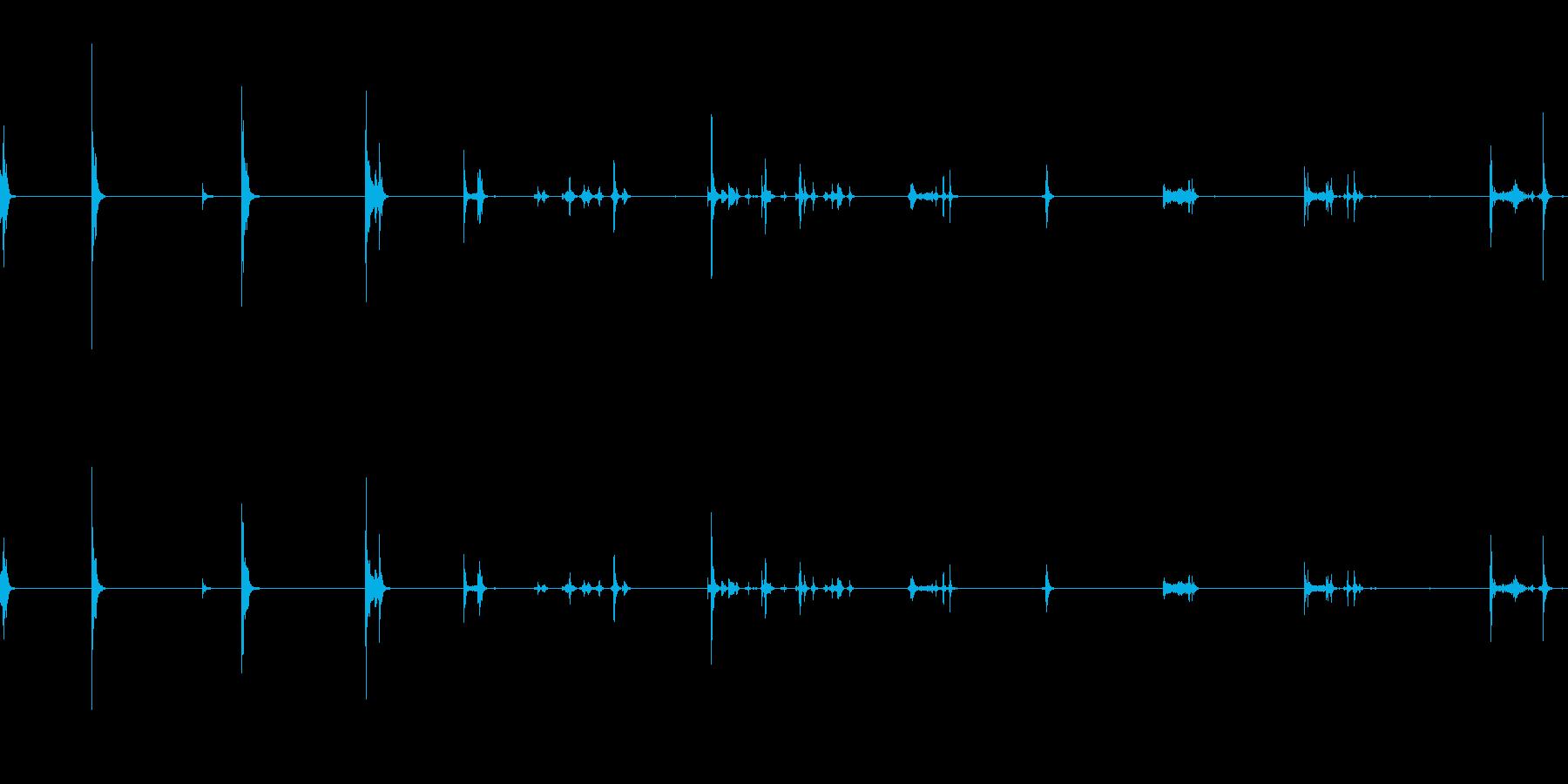 ケトル、ポット、蓋、オン、オフ、キ...の再生済みの波形