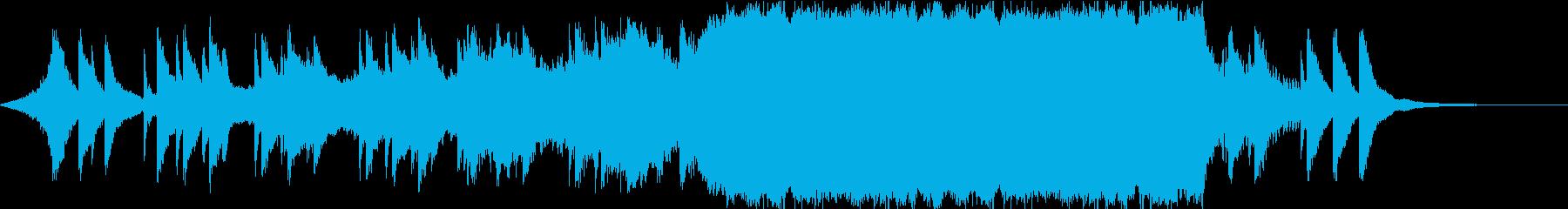 映画音楽/オーケストラ/壮大/ゆっくりの再生済みの波形