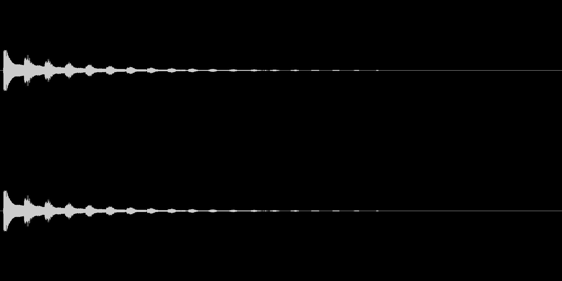 【びっくり03-2】の未再生の波形