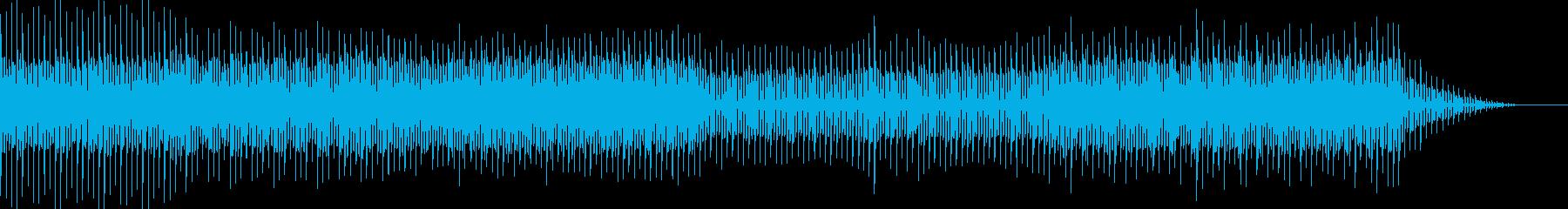 中二病の闇落ちした悪役のテーマっぽい音楽の再生済みの波形