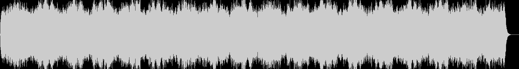 ヒーリング ピアノ 愛の周波数528Hzの未再生の波形